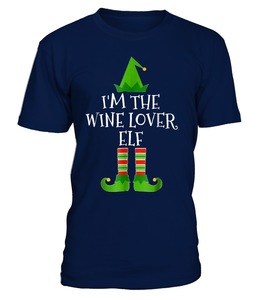 I'm The Wine Lover Elf Shirt Christmas