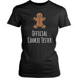 Official Cookie Tester Christmas TShirt