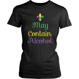 May Contain Alcohol T-Shirt Drinking Fourth of July Gift