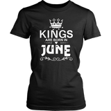 Kings Are Born In June T-Shirt