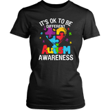 It's Ok to be different Autism Awareness T-Shirt