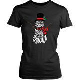 Let It Snow Shirt Christmas Holiday TShirt
