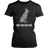 Funny Best Dog Dad Ever T-Shirt - Best Dog Dad Ever Shirt
