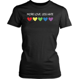 More Love Less Hate - We stand with Orlando - Pulse TShirt