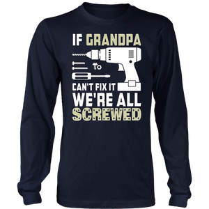 If Grandpa Can't Fix It TShirt