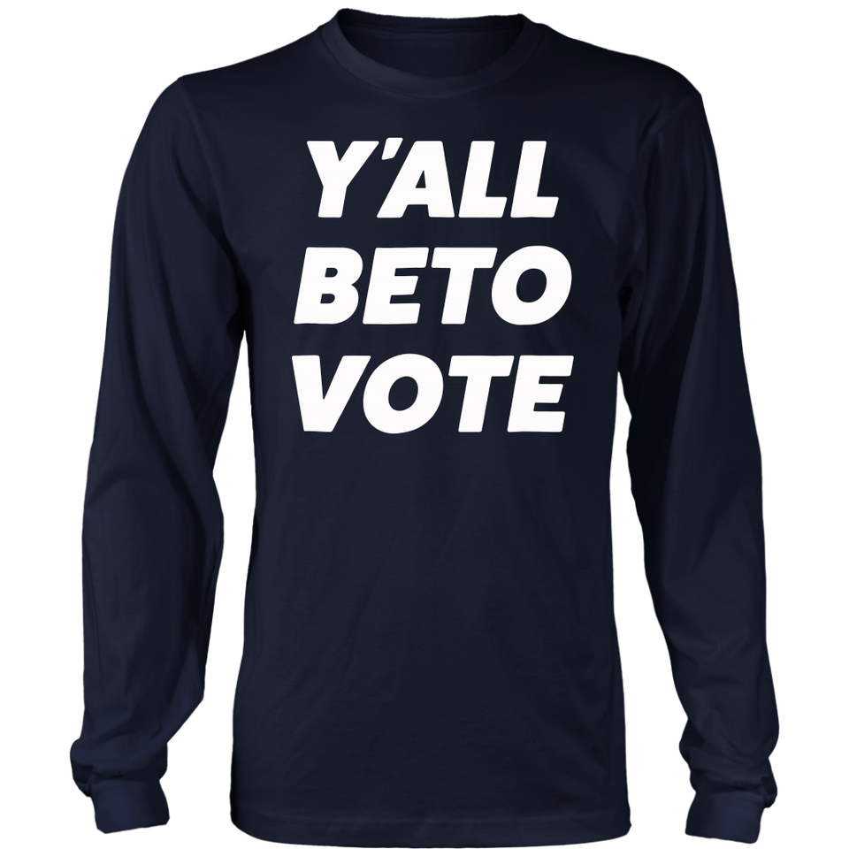 Y'All Beto Vote T-Shirt