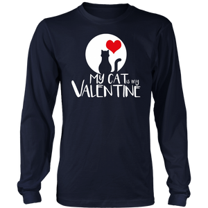 My Cat Is My Valentine Shirt