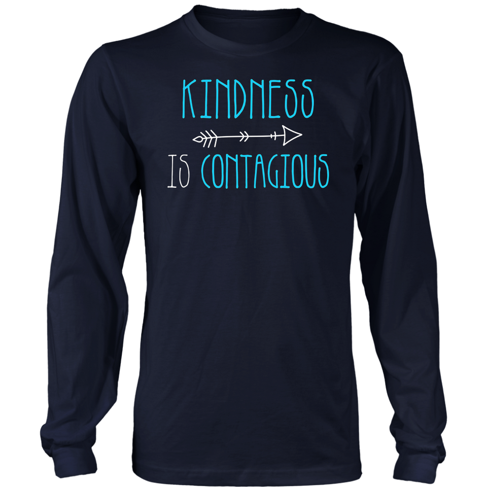 Cute kindness is contagious shirt - be kind t shirt