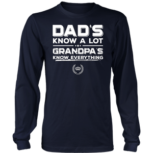 Dads Know A Lot Grandpas TShirt