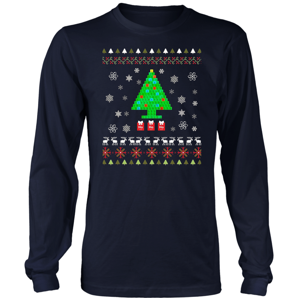 Chemist Tree T-Shirt Oh Chemistry Physics Christmas Gift