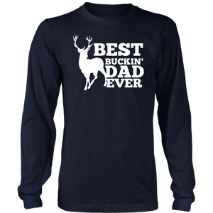 Mens Best Buckin' Dad Ever T-Shirt Fathers Day Shirt