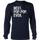 Best Pops Ever T-Shirt Father's Day Gift Shirt