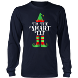 I'm The Smart Elf Matching Family Group Christmas TShirt