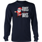 Floss Like A Boss Shirt Flossing Santa Christmas TShirt