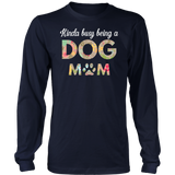 Kinda Busy Being A Dog Mom Shirt