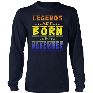 Legends Are Born In November TShirts