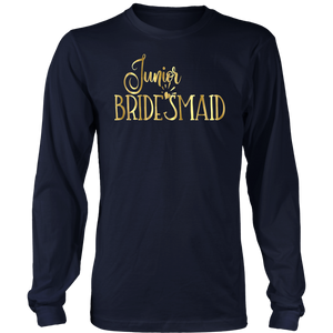 Junior Bridesmaid Wedding T Shirt