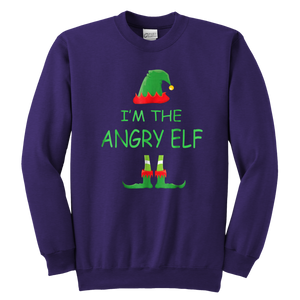 I'm The Angry Elf Crewneck Sweatshirt