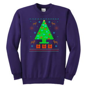 Oh Chemist Tree Merry Christmas Ugly Sweater Chemistry Tee