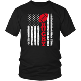 USA Flag Rugby T-Shirt