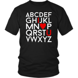 ABC I Love You Shirt