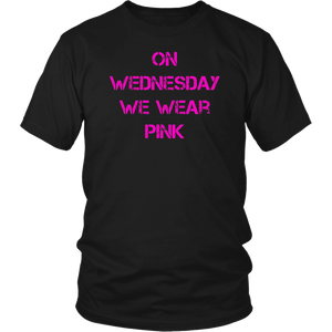 On Wednesdays We Wear PINK Shirt