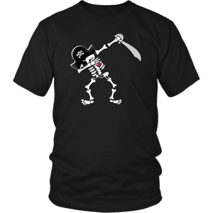 Dabbing Skeleton Pirate T-Shirt
