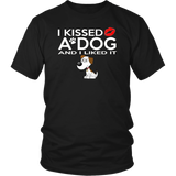 I Kissed A Dog And I Liked It Funny T-Shirt