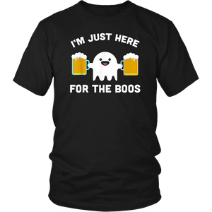 I'm Just Here for the Boos Shirt