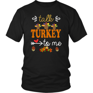 Talk Turkey to me Shirt thanksgiving TShirt