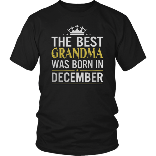 The best Are Born In December Shirts