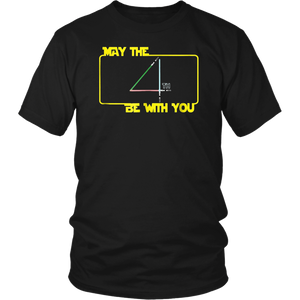 May The 4th Be With U you, Funny Fourth, SciFi Force T-Shirt