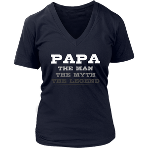 The Man The Myth The Legend Papa Shirt Grandpa Dad