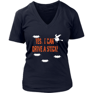 Why Yes I Can Drive A Stick T-Shirt