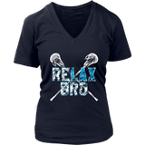 ReLAX Bro Lacrosse Player T-Shirt