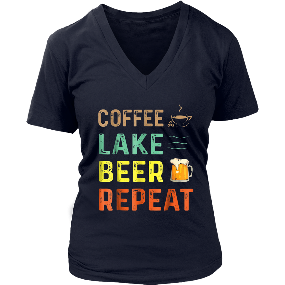Coffee Lake Beer Repeat Tshirt