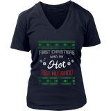 First Christmas With My Hot New Husband Shirt Christmas Shirt