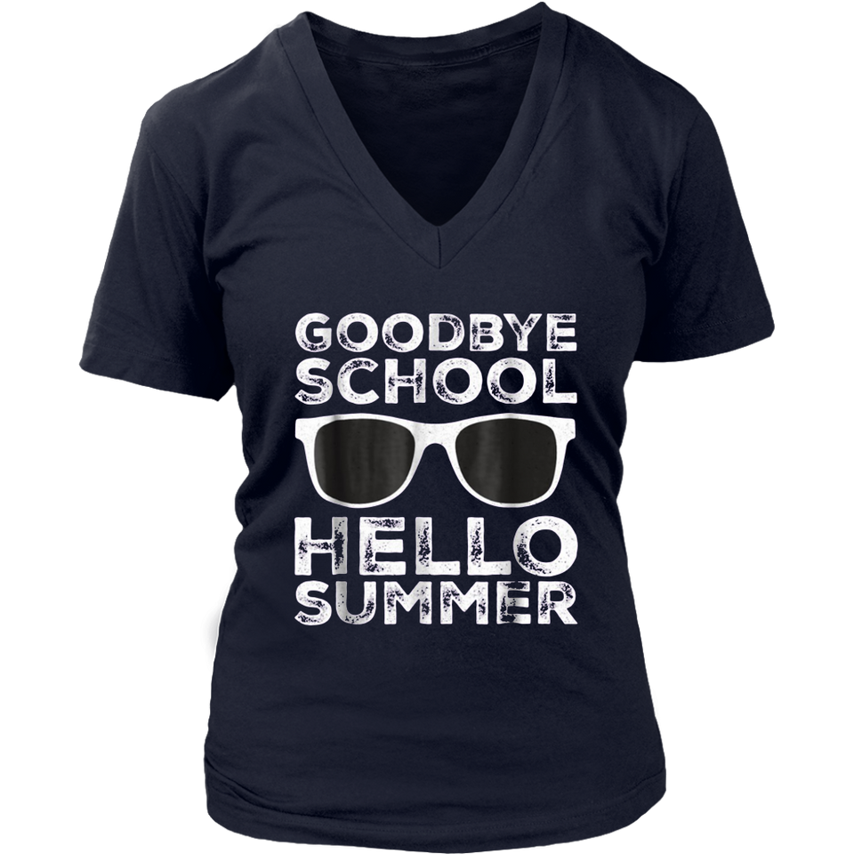 Goodbye School Hello Summer T-Shirt