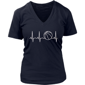 Heartbeat Basketball Shirt BBall Shirt