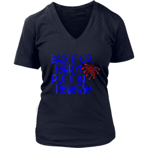 Back It Up Terry Put It In Reverse T-shirt