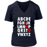 ABC I Love You TShirt