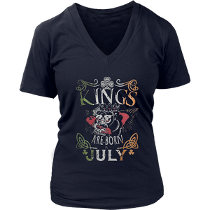 Kings Are Born In July Shirt