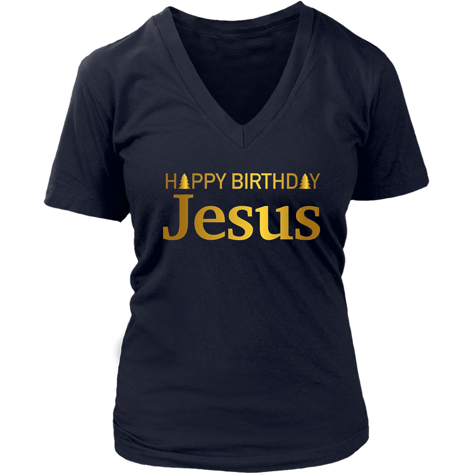 Happy Birthday Jesus T Shirt Christmas Gift TShirt