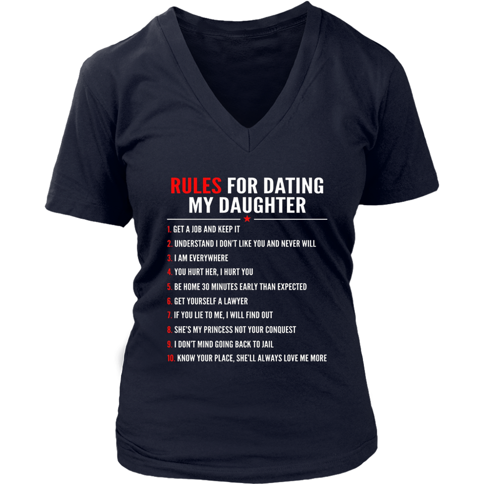 Rules for dating my daughter TShirt