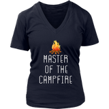 Master Of The Campfire Outdoor Camping T-Shirt