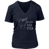 Best Buckin' Dad Ever T-Shirt Fathers Day Deer Hunters Shirt