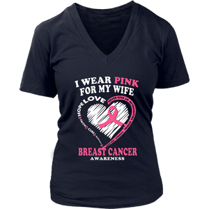 I Wear Pink For My Wife Shirt Cancer Awareness Shirt