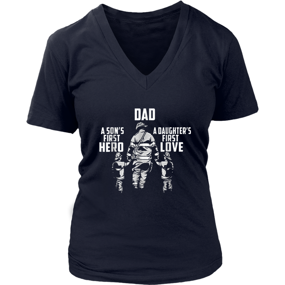 Dad a Sons First Hero a Daughters First Love Shirt