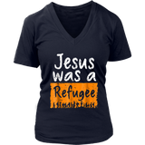 Jesus Was A Refugee T-Shirt Immigrant Shirt