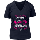 July Girls Are Sunshine Mixed With a Little Hurricane T-Shirt